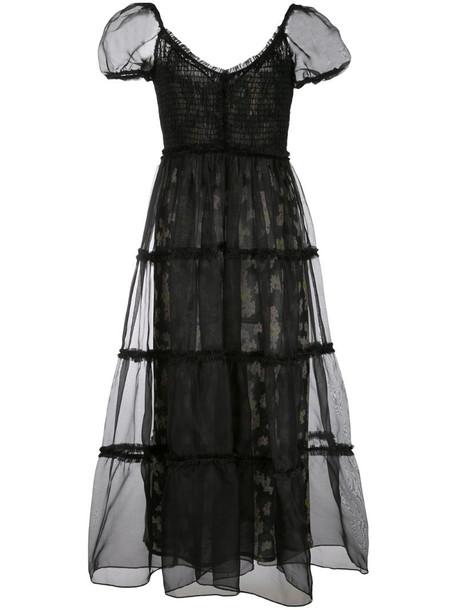 Cinq A Sept Quinn dress in black