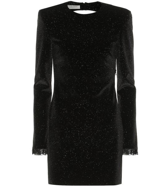 Philosophy Di Lorenzo Serafini Embellished minidress in black