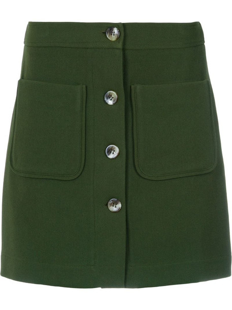 Olympiah Andes skirt in green