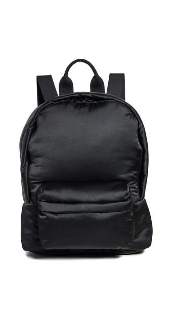 MM6 Maison Margiela Padded Backpack in black
