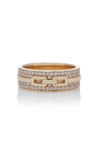 Sophie Ratner 14K Gold Diamond Ring