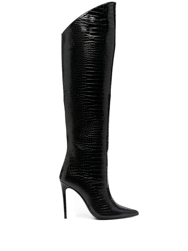Giuliano Galiano Stivali Elise thigh-high boots in black