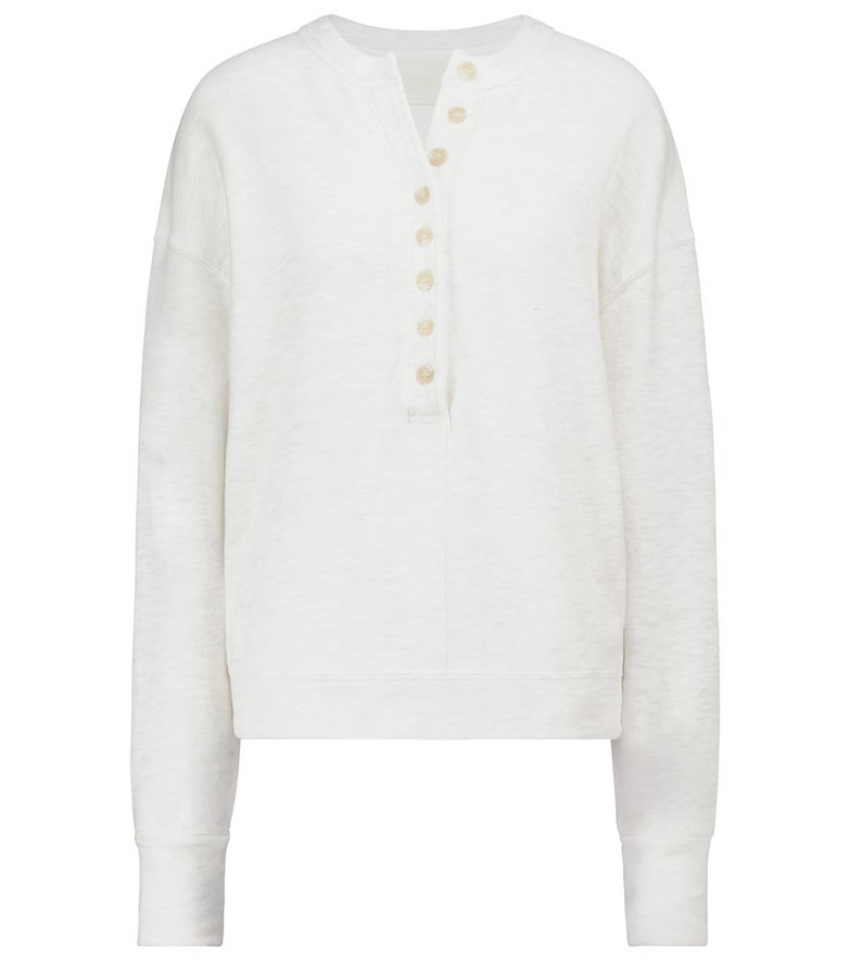 Citizens of Humanity Cora cotton jersey sweatshirt in grey