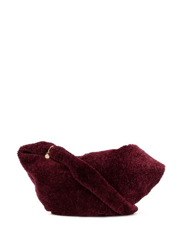 Simonetta Ravizza Furrisima shoulder bag in red