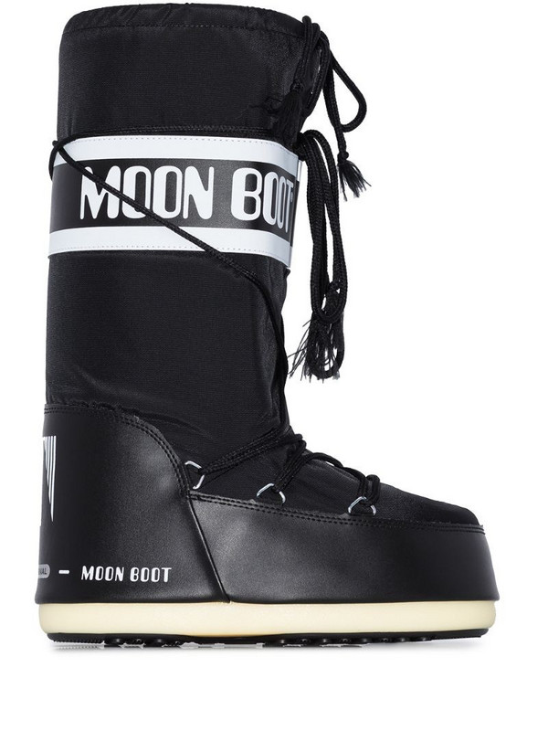 Moon Boot Icon snow boots in black
