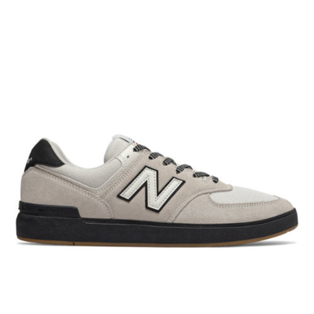 New Balance All Coasts 574 Men's Shoes - Grey/Black (AM574BTN)
