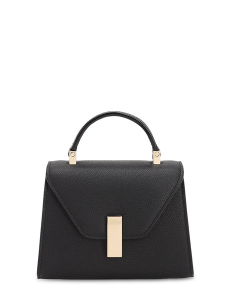 VALEXTRA Micro Iside Grained Leather Bag in black