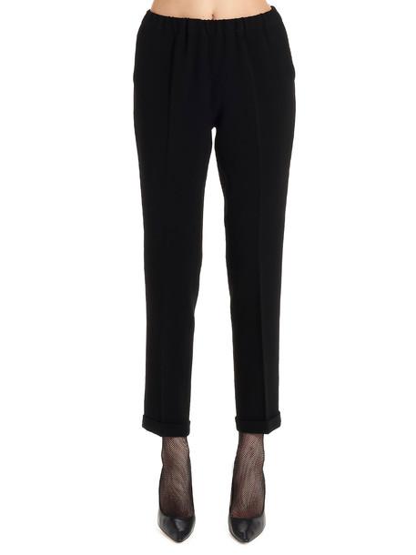 Alberto Biani Pants in black