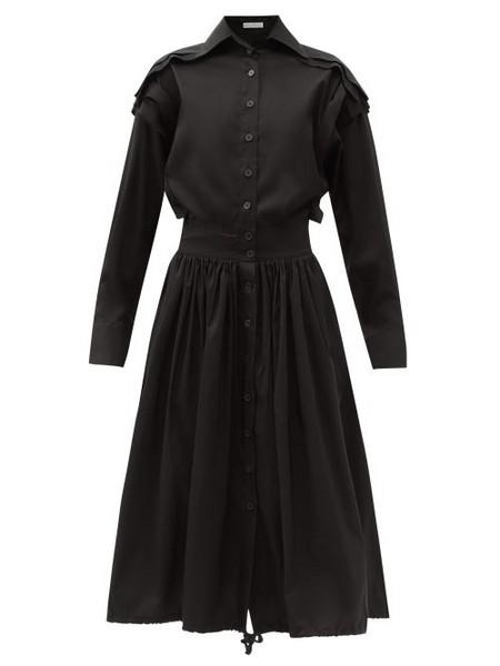 Palmer/harding Palmer//harding - Bursting Excitement Cotton-blend Dress - Womens - Black