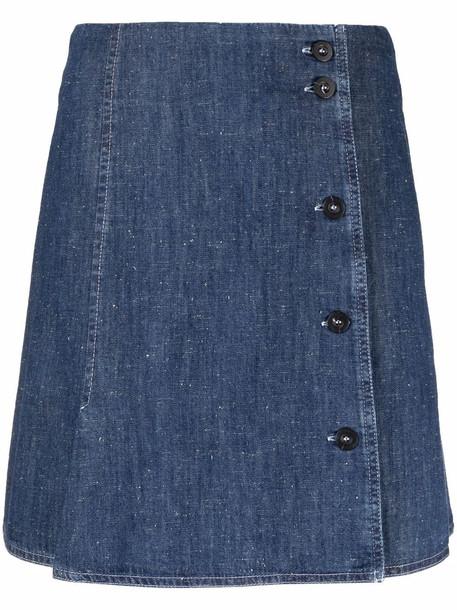 A.P.C. A.P.C. denim mini skirt - Blue