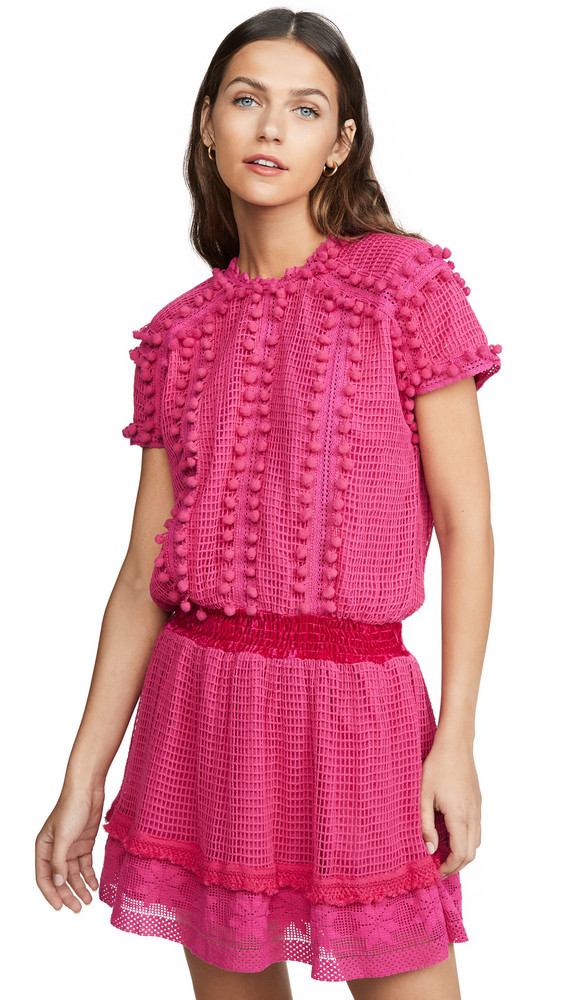 Place Nationale La Mouette Dress in pink