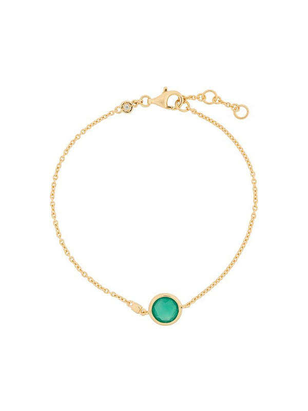Astley Clarke Green Onyx Stilla bracelet in gold
