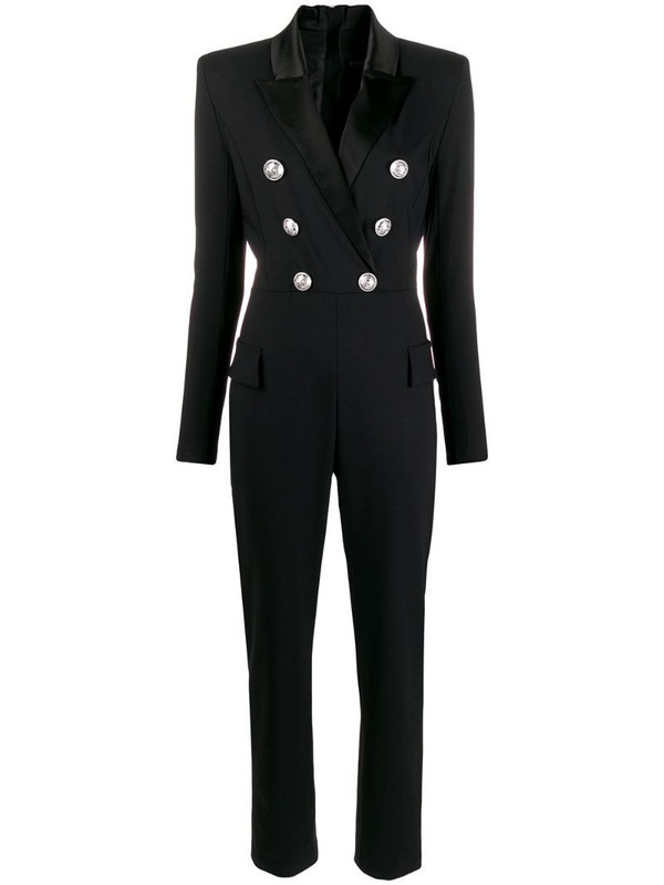 Balmain blazer jumpsuit in black