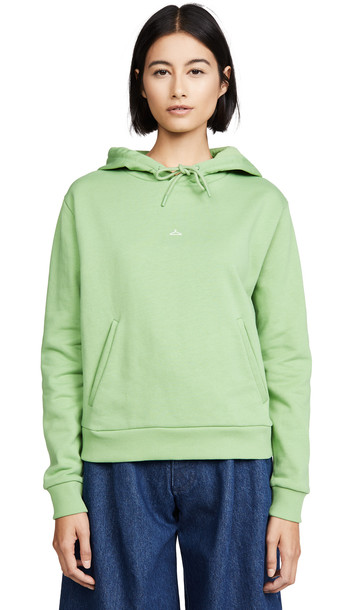 HOLZWEILER Hang On Sweatshirt in green / white