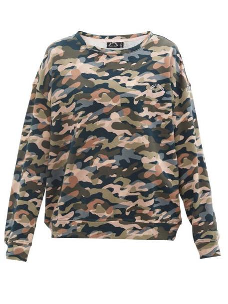 The Upside - Alena Himalaya Camouflage-print Cotton Sweatshirt - Womens - Camouflage