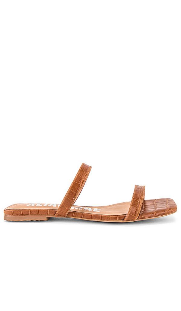 Alias Mae Prim Sandal in Brown in tan