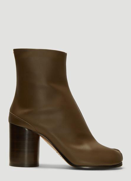 Maison Margiela Tabi Boots in Green size EU - 39