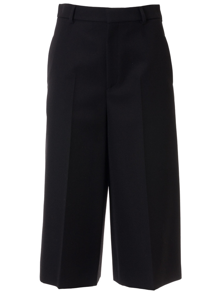 Celine Cropped Trousers in black