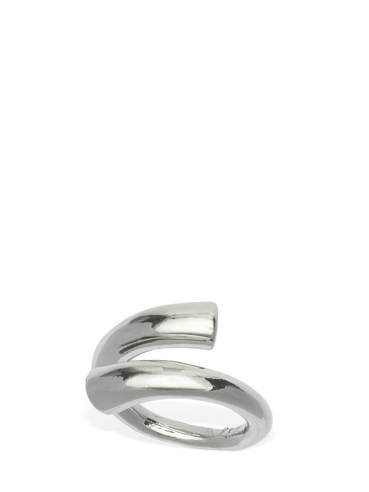 FEDERICA TOSI Tube Adjustable Ring in silver