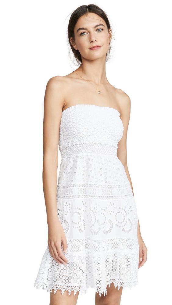 Temptation Positano Ostia Mini Dress in white