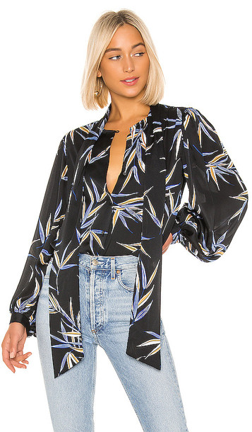 Equipment Cleone Blouse in Black