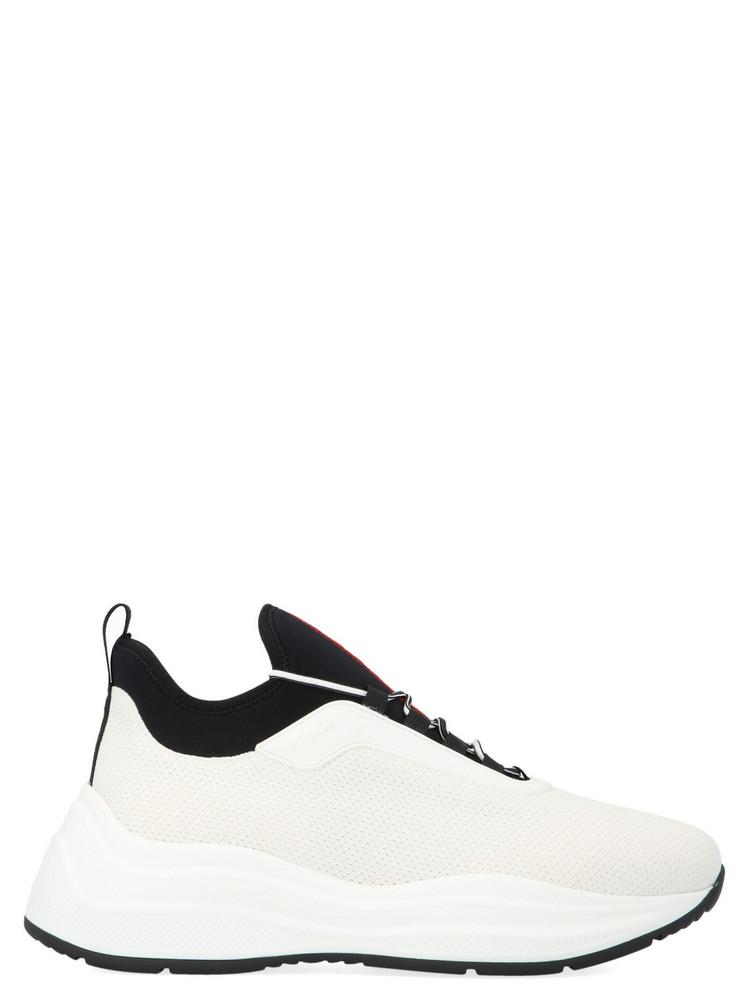 Prada Linea Rossa barca Xl Shoes in white