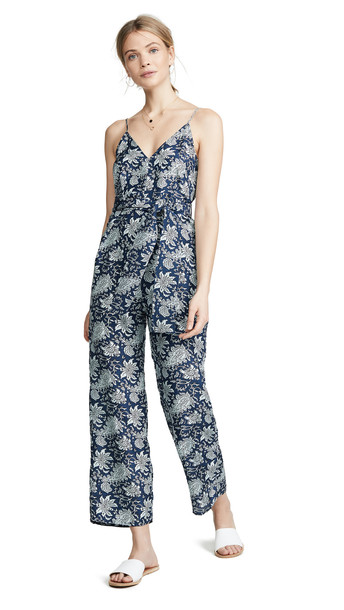 Apiece Apart Ostrea Tank Jumpsuit in navy