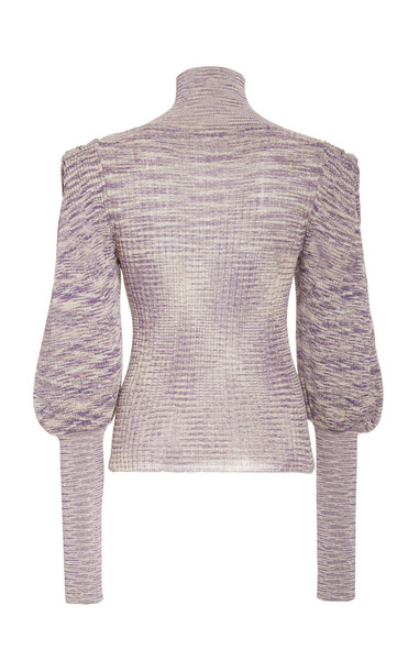 Ulla Johnson Josie Turtleneck in purple