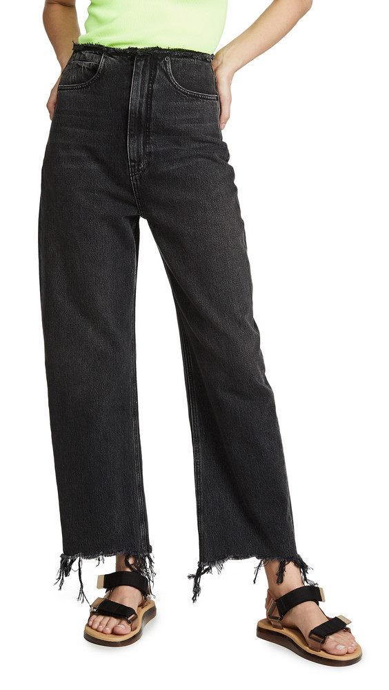 Denim x Alexander Wang Split Jeans in grey