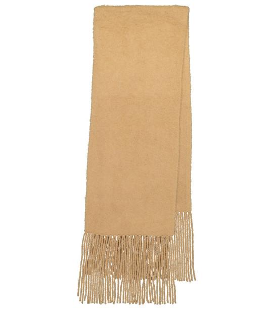 Joseph Alpaca-blend scarf in beige
