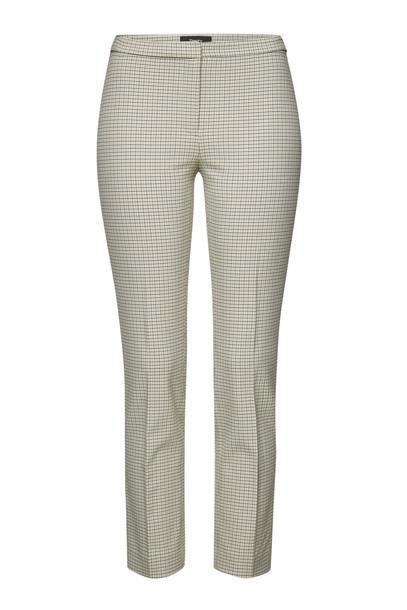 Theory Printed Skinny Pants  in beige
