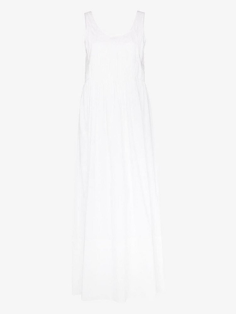 Markoo MARKOO PLEATED TANK DRS MXI SLVLS in white
