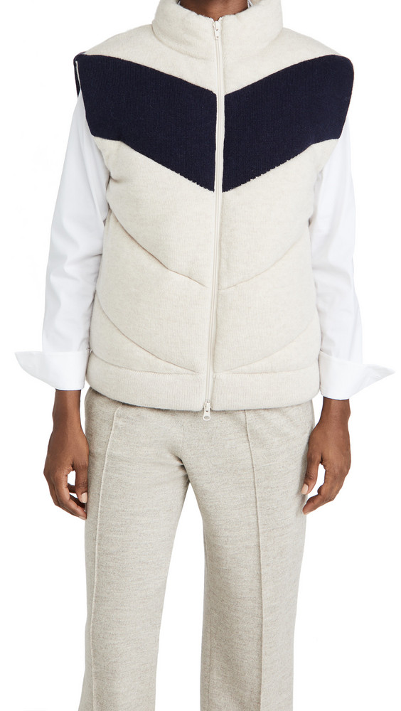 3.1 Phillip Lim Padded Sweater Vest in navy