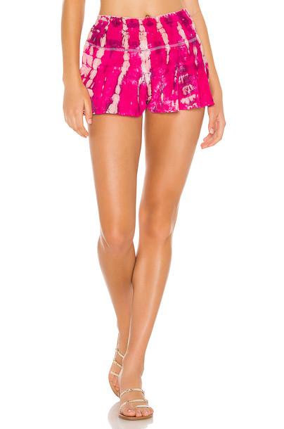 Tiare Hawaii Pia Short in pink