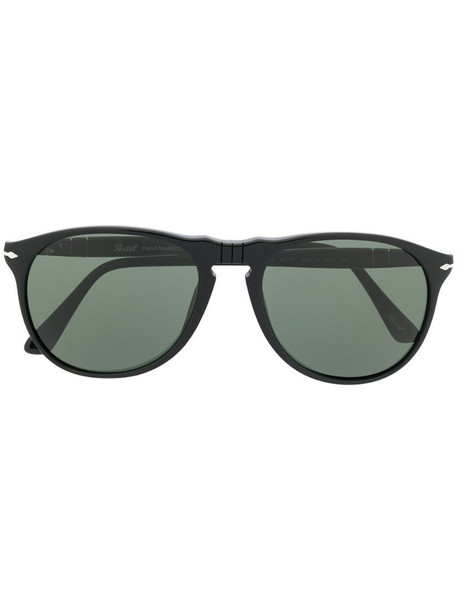 Persol round frame sunglasses in black