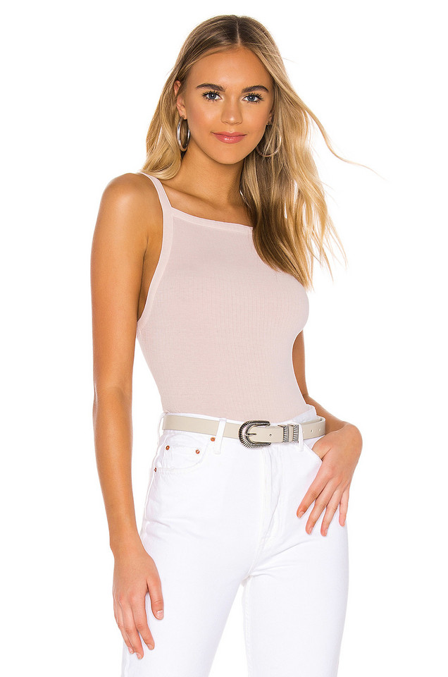 Free People Set Up Tank in blush