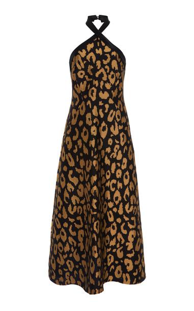Temperley London Josie Halter Dress Size: 6