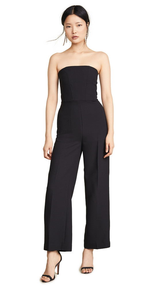 Edition10 Strapless Jumpsuit in black
