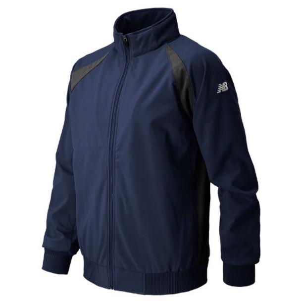 New Balance 9901 Men's Pro Elite Dugout Baseball Jacket - Navy (TMUJ9901TNV)