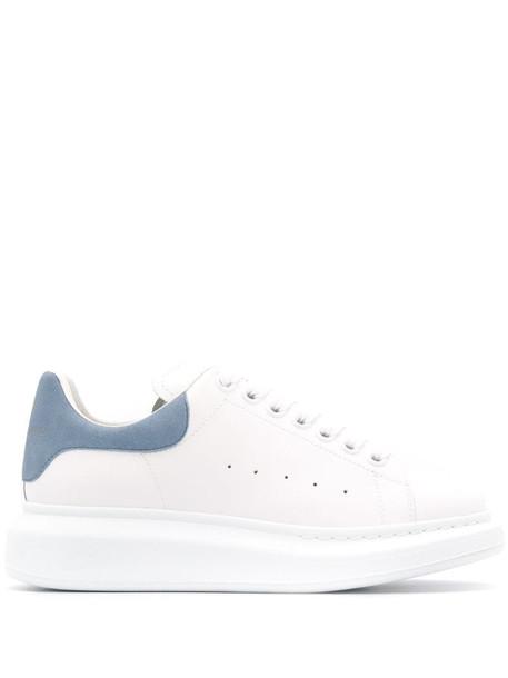 Alexander McQueen oversized sole sneakers in white