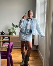 jacket,skirt
