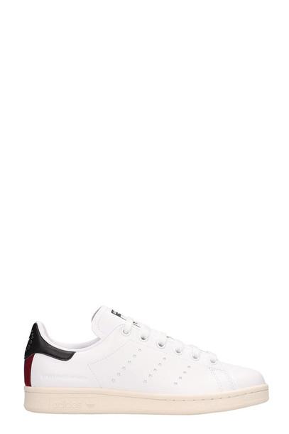 Adidas Originals White Leather Stan Smith Sneakers Stella Mccartney Collaboration