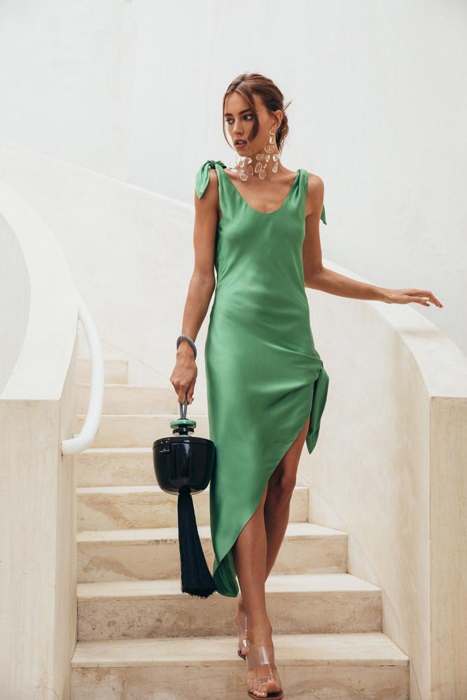 Cult Gaia Dehlila Dress - Fern                                                                                               $528.00 USD