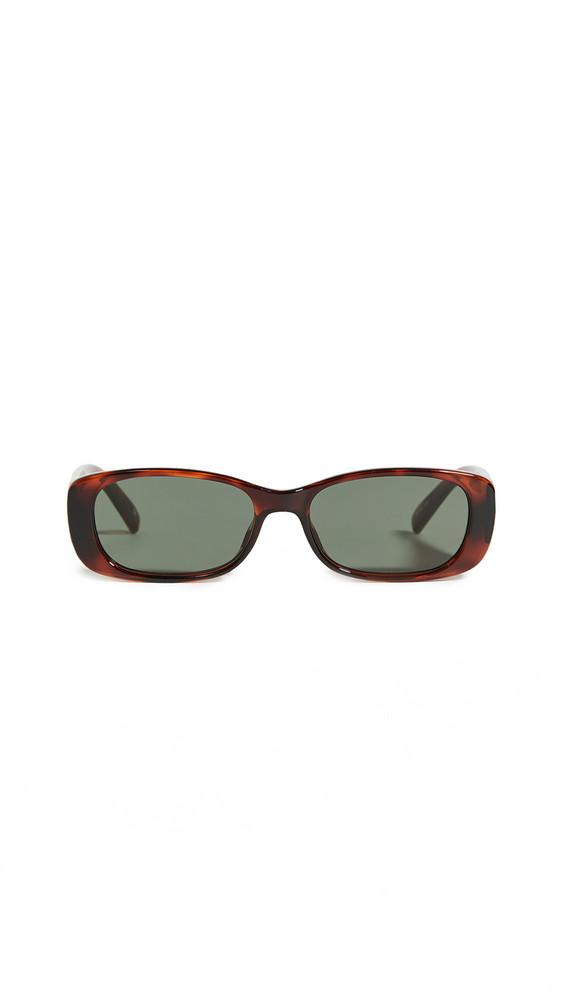 Le Specs Unreal Sunglasses in khaki