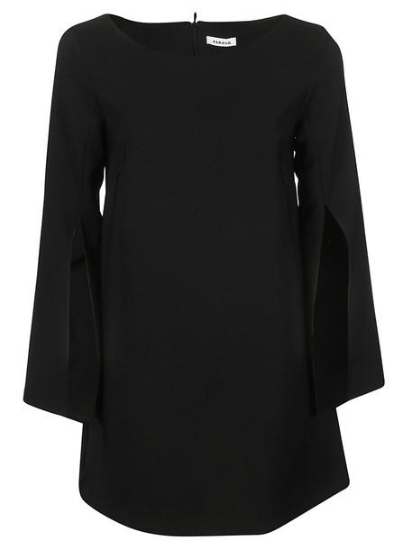 Parosh P.a.r.o.s.h. Flared Dress in black