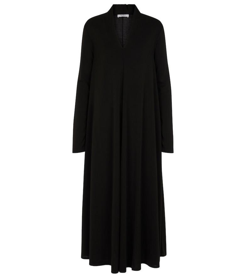Max Mara Leisure Caladio maxi dress in black