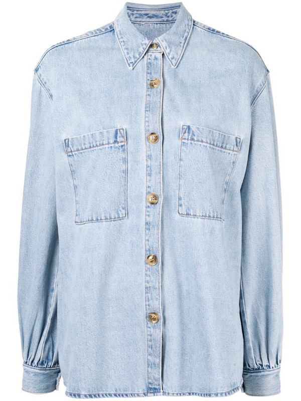 Nobody Denim Artist denim jacket in blue