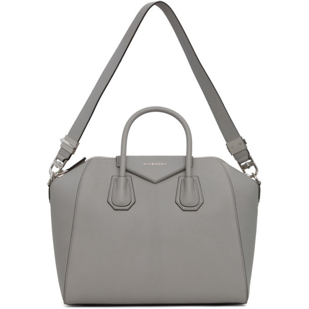 Givenchy Grey Medium Antigona Bag