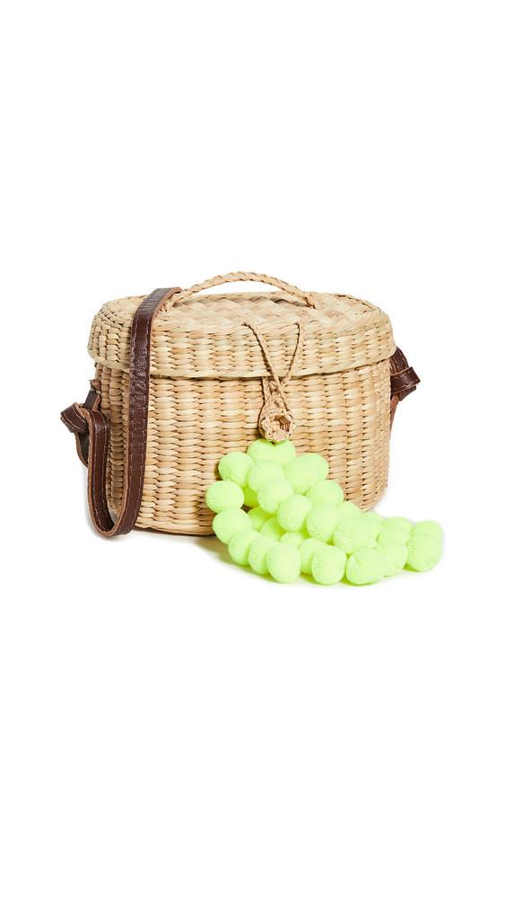 Nannacay Kiki Small Crossbody Bag in green