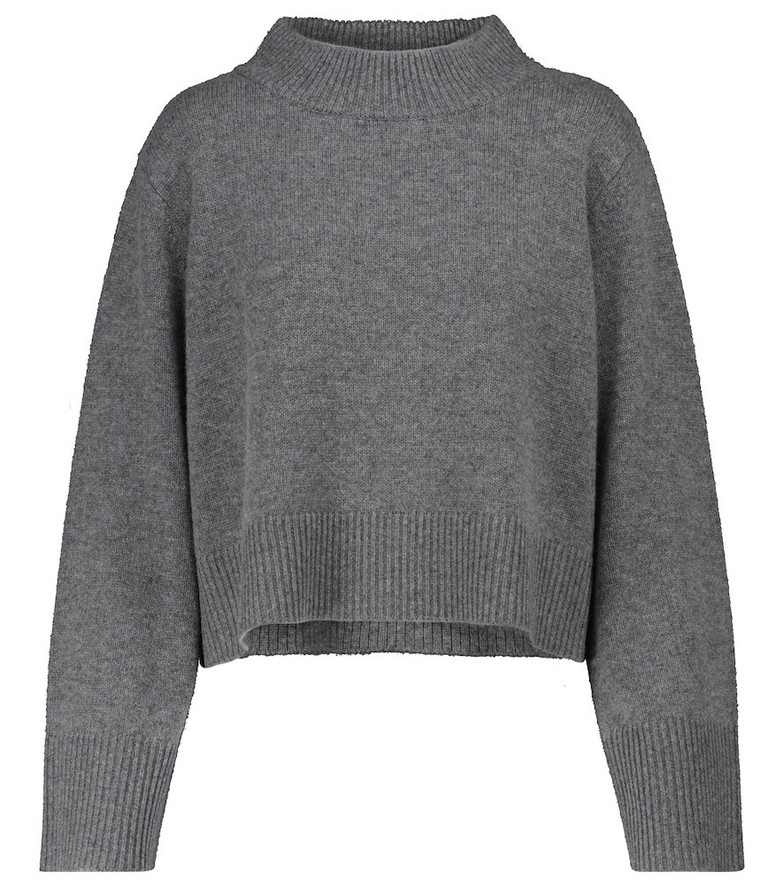 Co Wool and cashmere sweater in grey
